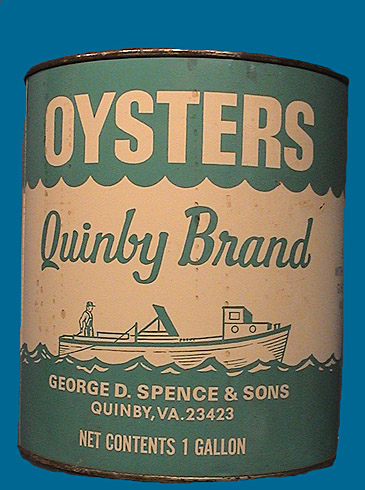 Quinby oyster can