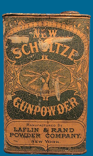 SCHULTZE Powder tin