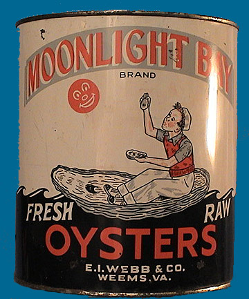 MOONLIGHT BAY OYSTER CAN