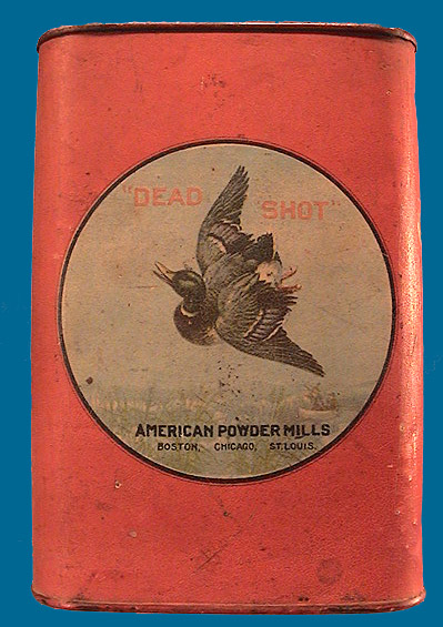 Dead Shot powder tin