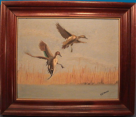 Lem Ward Pintail painting