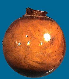 Early Amber Target Ball