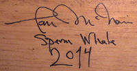 Ian signed base