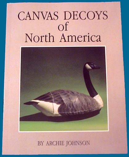 Canvas Decoy book