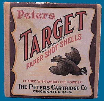 Peters shot shell box