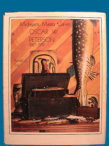 Oscar Peterson fish decoy book