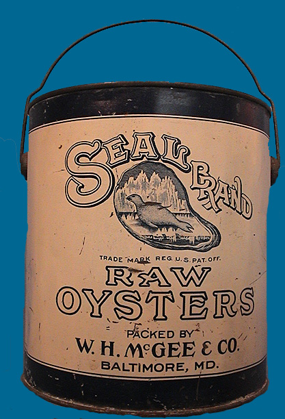 Seal Brand Oyster tin