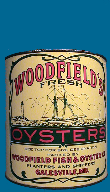 WOODFIELDS OYSTER TIN
