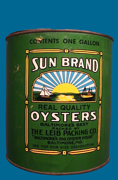 SUN BRAND OYSTERS
