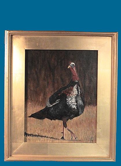 chuck belensky turkey oil painting